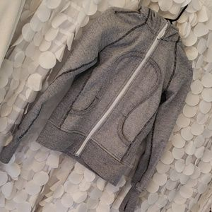 Lululemon scuba striped 4 jacket hoodie